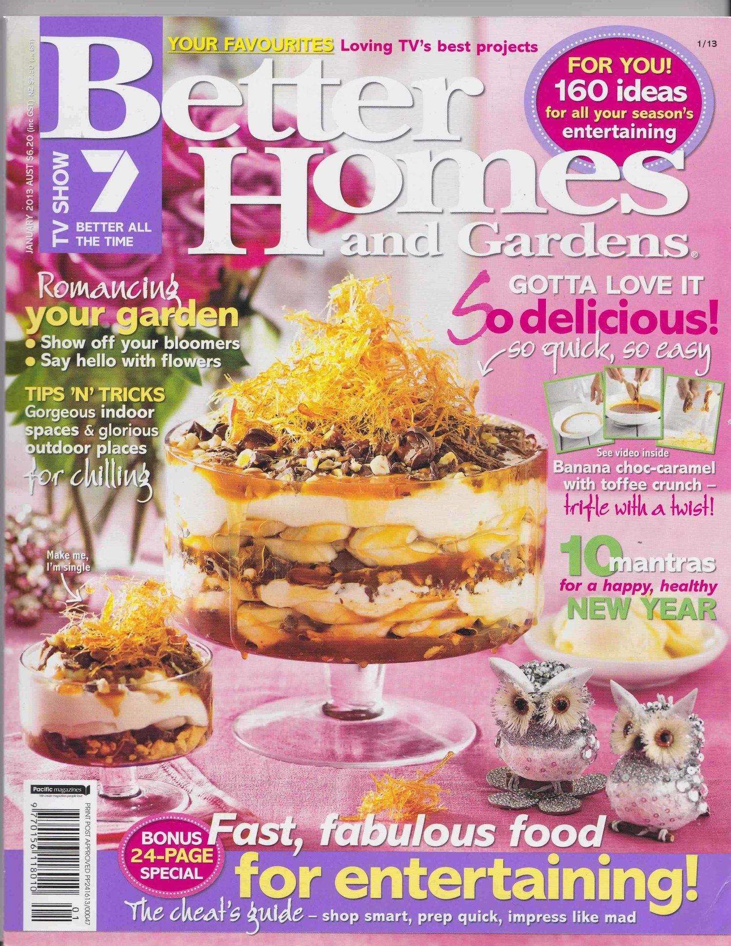 Furniture in better homes and gardens magazine january Better homes and gardens christmas special